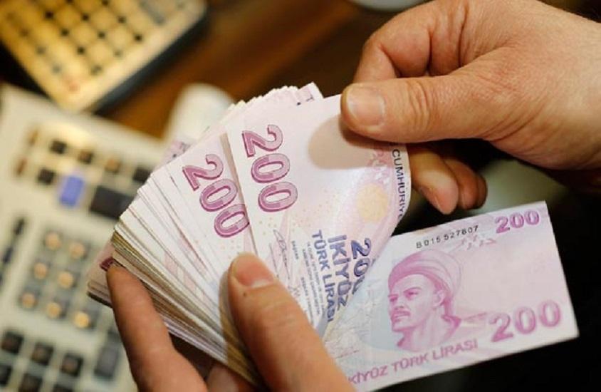 Merkezi yönetim brüt borç stoku 892,6 milyar lira oldu