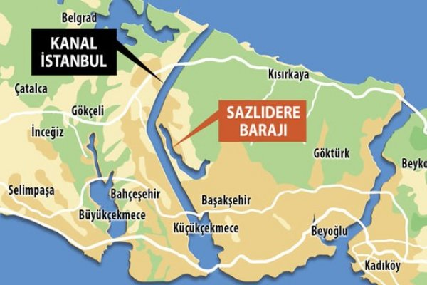Kanal İstanbul'un maliyeti 75 milyar TL'ye yükseldi
