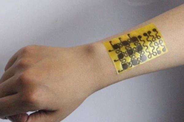 Kendi kendini onarabilen elektronik deri üretildi