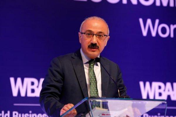 Bakan Elvan Dünya Melek Yatırım Forumu'nda konuştu
