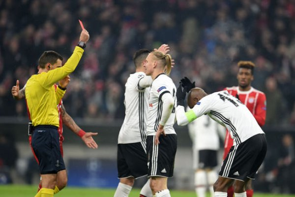 Kartal bu kez üzdü: Bayern Münih: 5 - Beşiktaş: 0