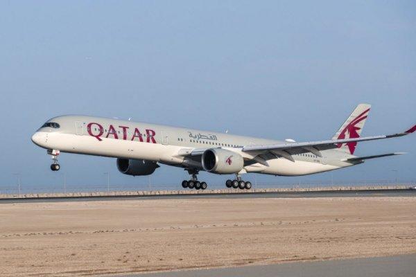 """""""Dünyanın en güçlü uçağı"""" Airbus A350-1000 Katar'da"""