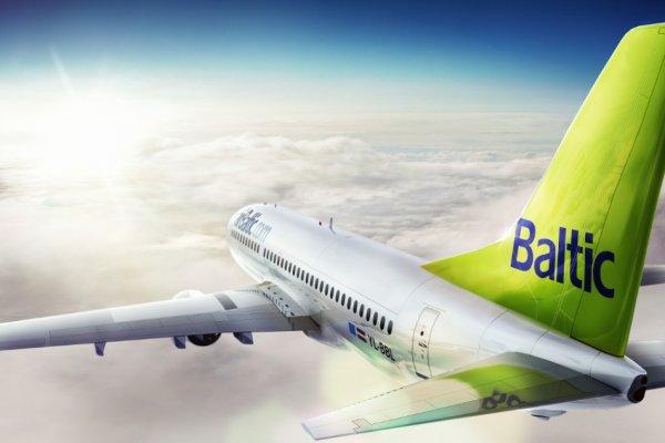 """airBaltic """"Dünyanın En Dakik Havayolu"""" seçildi"""