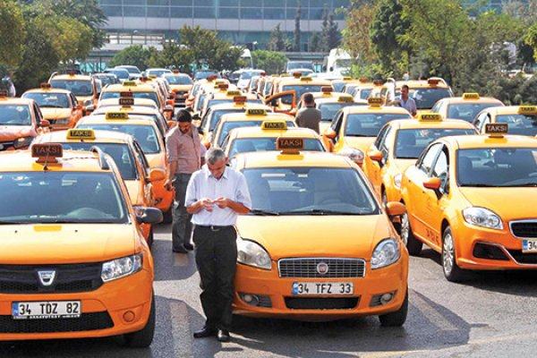 Ticari taksilere trafiğe çıkma sınırlaması
