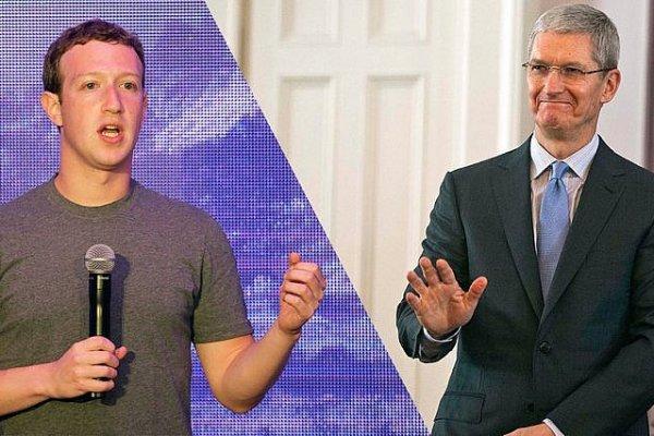 Zuckerberg'den Tim Cook'un eleştirisine yanıt geldi!