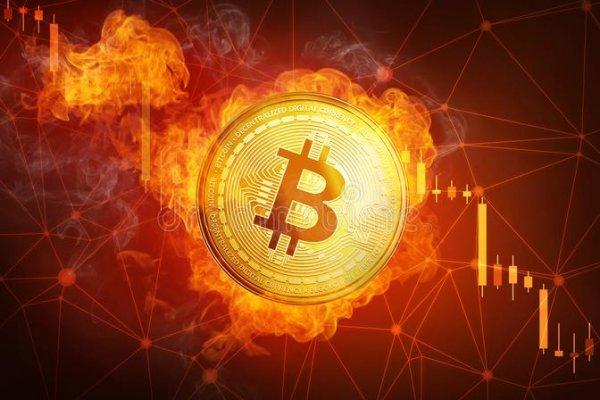 Türkiye'de bir ilk! Bitcoin yangını...