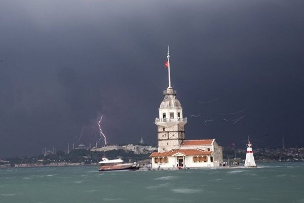 İstanbul Valiliği ve Meteoroloji'den fırtına uyarısı