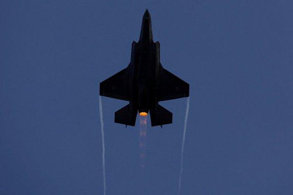 F-35'i savaşta kullanan ilk ülke İsrail oldu