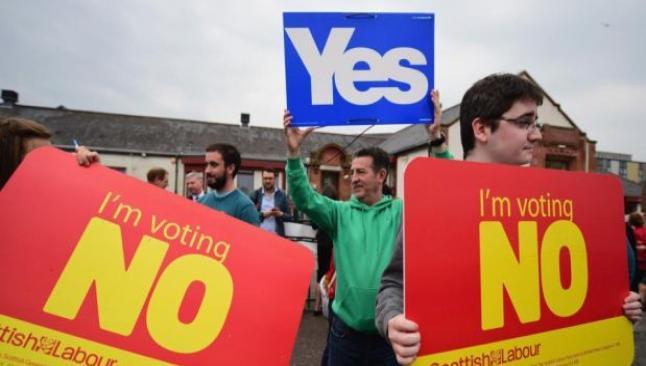 """İskoçya bağımsızlığa """"hayır"""" dedi"""