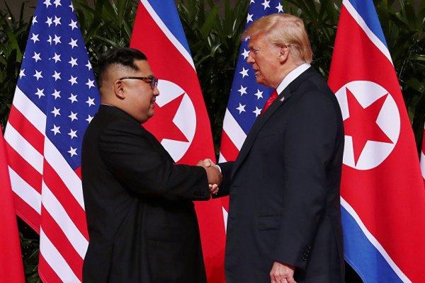 Trump: Kim ile çok önemli bir belge imzalıyoruz