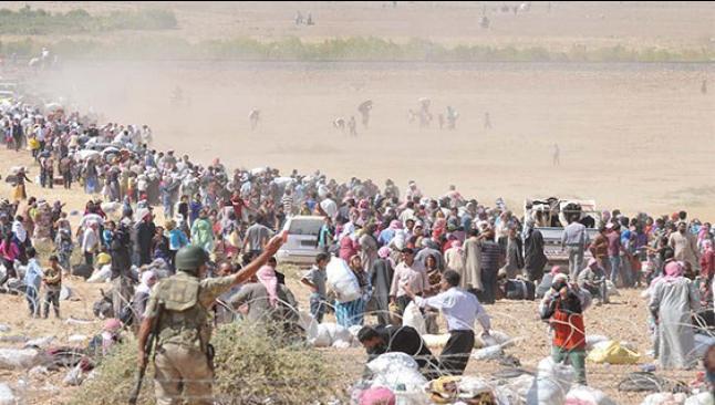 Suriyelilerin Türkiye'ye girmesine izin verildi