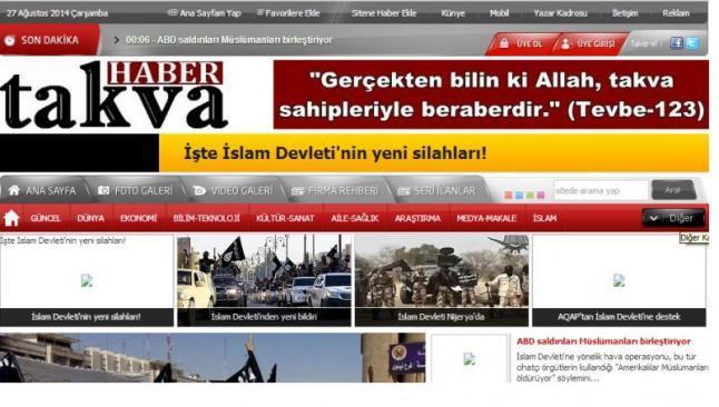 IŞİD yanlısı haber sitesi yayını kesti