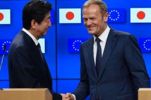Avrupa Birliği ve Japonya arasındaki ticari sınırlar kalkıyor