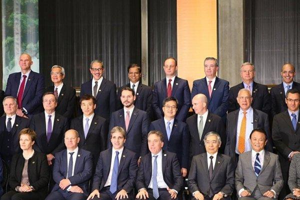 Bakan Albayrak, G20 Aile Fotoğrafı çekimine katıldı