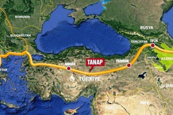 Avrupa Komisyonu TANAP'a 5 milyon Euro finansal destek sağladı