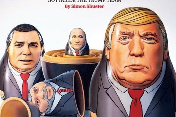 Time, Putin ve Trump'lı yeni kapağını yayınladı
