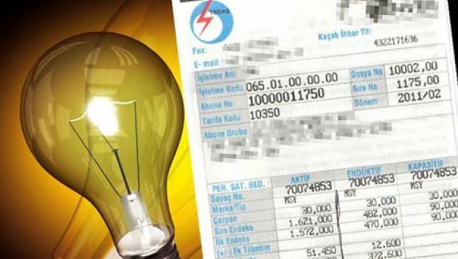 Elektrik faturaları meclis gündeminde