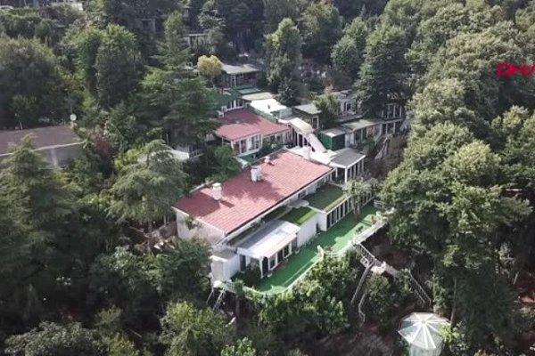 Adnan Oktar'ın meşhur villası yıkılıyor