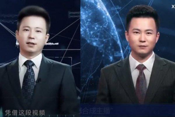 """Çin haber ajansından """"yapay zekalı haber spikeri"""""""
