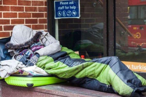 İngiltere'de evsizlerin sayısı artıyor