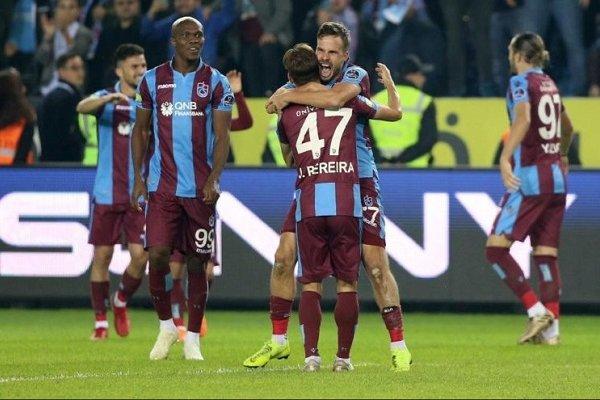 Trabzonspor 8 yıl sonra Fenerbahçe'yi yendi