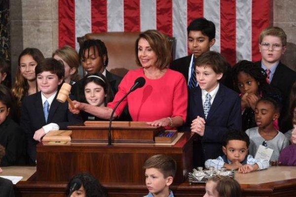 ABD Temsilciler Meclisi Başkanlığı'na Demokrat Nancy Pelosi seçildi