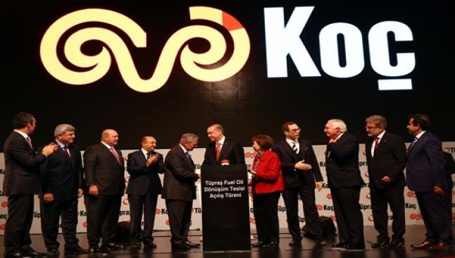 Erdoğan en büyük tesisin açılışını yaptı