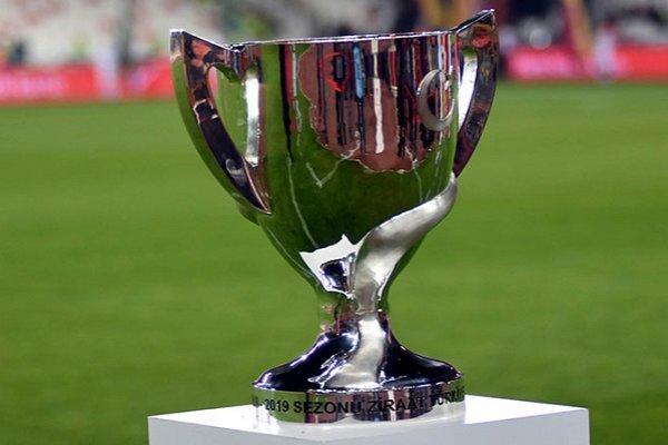 Olaylı maçta kupayı Galatasaray kaldırdı