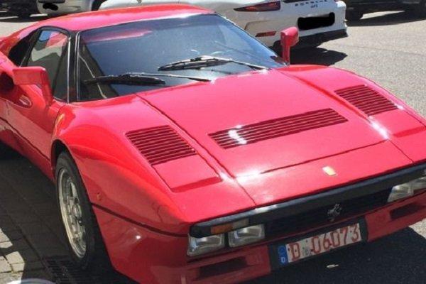 2 milyon euroluk Ferrari test sürüşünde çalındı