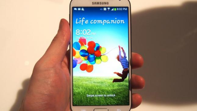 Galaxy S4'ten 6 ayda 40 milyonluk satış