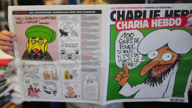 Fransız dergisine saldırı 10 ölü