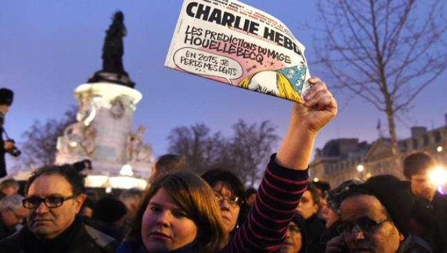 Charlie Hebdo'da yine Hz. Muhammed kapak