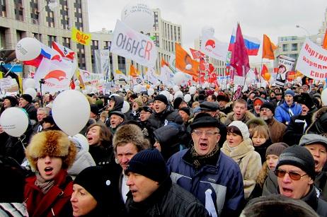 Rusya'da protestolar büyüyor
