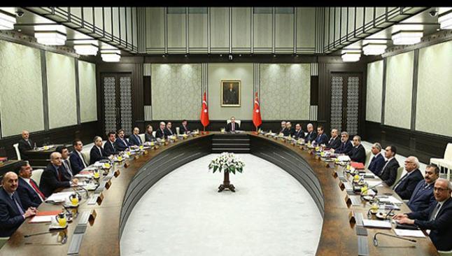 Bakanlar Kurulu Saray'da toplandı