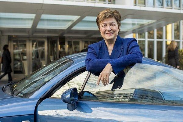 IMF'in yeni Başkanı Kristalina Georgieva