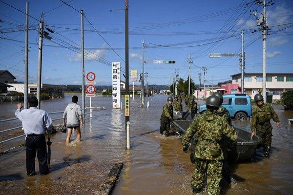 Japonya'daki tayfunun bilançosu büyüyor