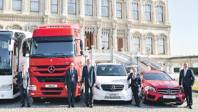 Mercedes satışları patladı
