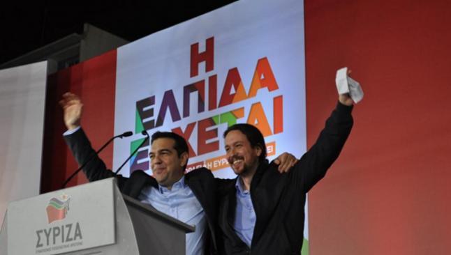 Yunanistan'da ipi Syriza göğüsledi