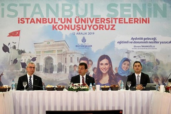 Devlet üniversiteleri rektörlerinden İmamoğlu'na boykot