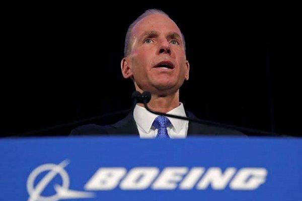 Boeing'in CEO'su istifa etti