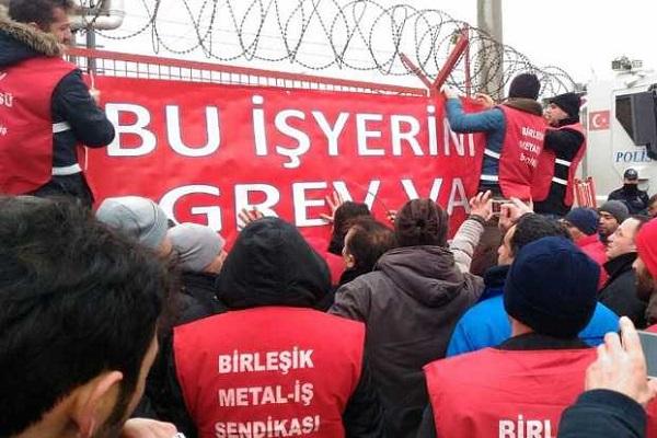 Metal sektörü adım adım greve gidiyor