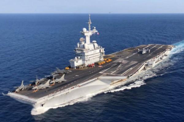 Fransa, Orta Doğu'ya uçak gemisi gönderiyor