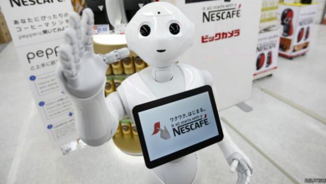 Bankalarda artık robotlar çalışacak