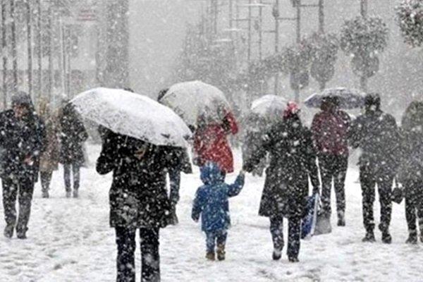 İstanbul'a önce yağmur sonra kar geliyor