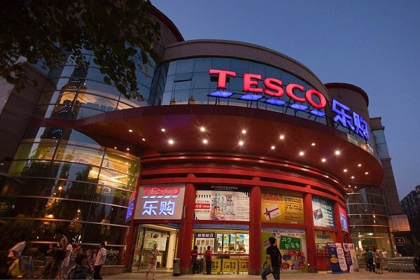 Tesco Çin'den çıkıyor