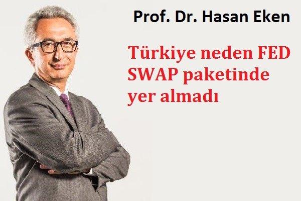 Türkiye neden FED SWAP paketine giremedi