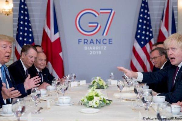 Trump'tan G7'ye ayar: Bu haliyle düzgün temsil etmiyor