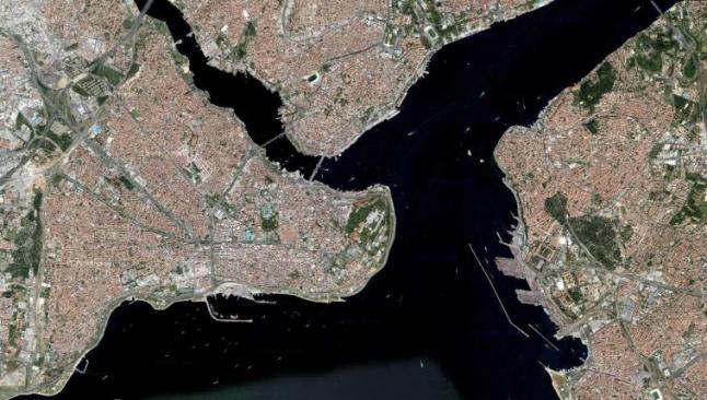 İstanbul Boğazı'ndaki yapılaşmaya uydudan denetim