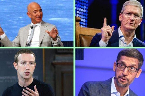 Teknoloji devleri Kongre'de ifade verdi