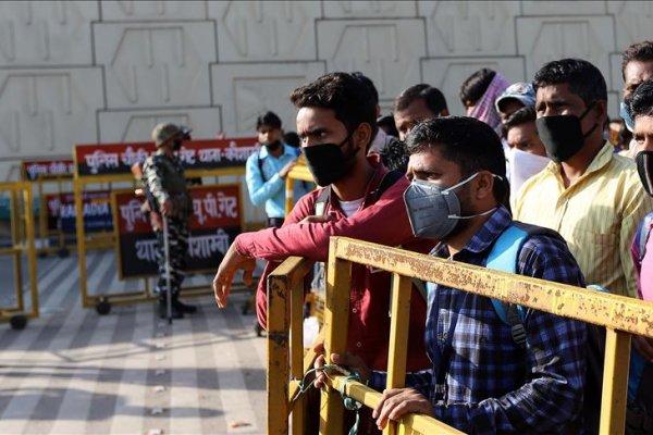 Hindistan'da günlük Kovid-19 vaka sayısı 400 bini aştı